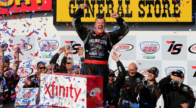 Dreams do Come True – Preece Earns First NASCAR Xfinity Series Win at Iowa