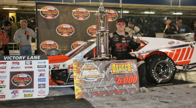 Ryan Preece Claims First Oswego Victory in NASCAR Whelen Modified Tour Toyota Mod Classic 150