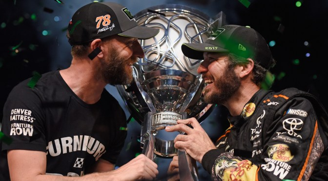 Truex Jr Wins Homestead and Championship