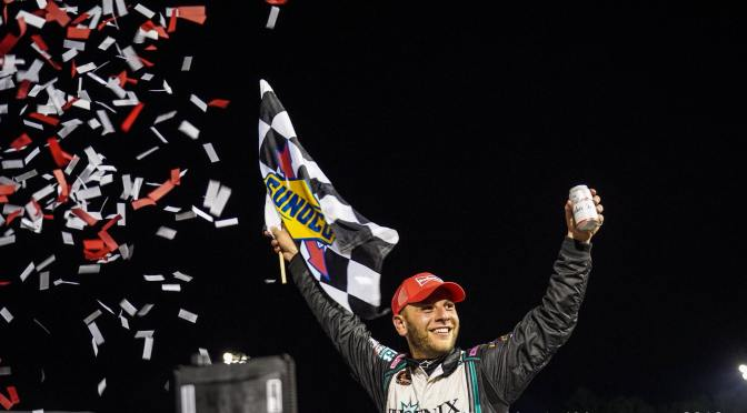 Justin Bonsignore Keeps His Dominant Roll Going at Thompson