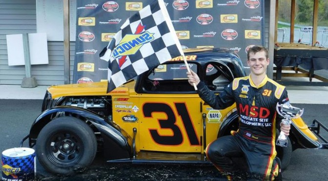 Noah Korner Becomes First Midstate Site Development Legends Entry For Bullring Bash Quarter Mile Challenge