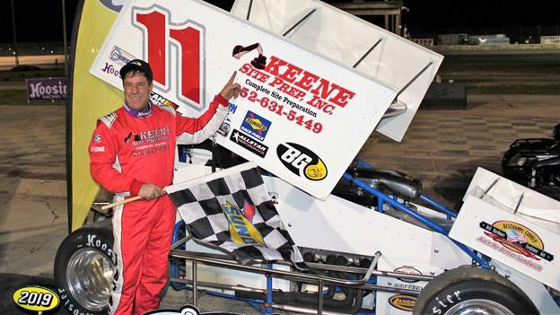 "Joey ""The Ace"" Aguilar Takes 4-17 Southern Speedway Gold"