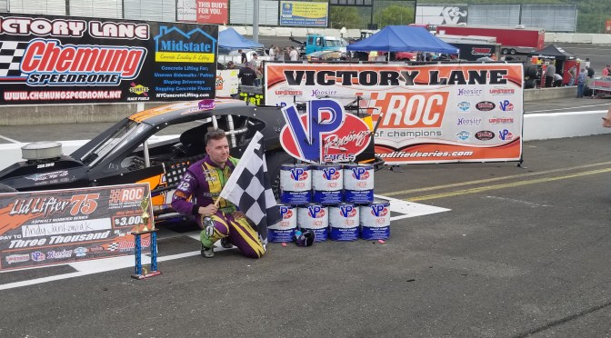 ANDY JANKOWIAK OPENS RACE OF CHAMPIONS ASPHALT MODIFIED SERIES SEASON WITH A WIN AT CHEMUNG SPEEDROME