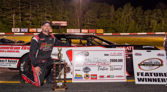 O'Sullivan to GSPSS Victory Lane in the O'Reilly Auto parts 100