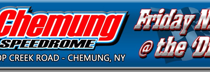 """""""Charlie Sharpsteen Scores a Huge Slam-Dunk in Double 40-Lap Sunoco Modified Features at Chemung"""""""