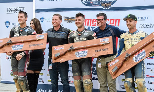 Bronson Victorious in the Bauman Brother Battle at The Flat Track