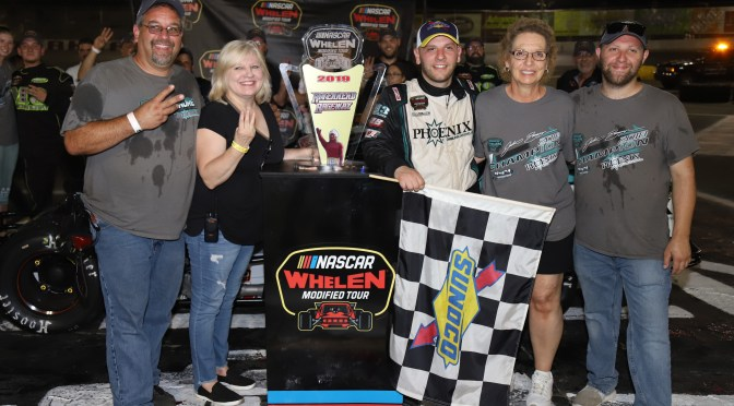 Justin Bonsignore Spins To Win Third Straight at Riverhead Raceway