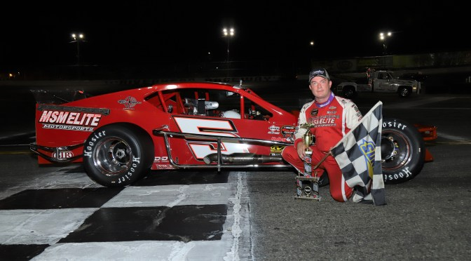 JOHN BEATTY JR. REBOUNDS FROM WMT DISAPPOINTMENT TO CAPTURE RIVERHEAD RACEWAY 50-LAP NASCAR MODIFIED WEDNESDAY NIGHT SPECIAL