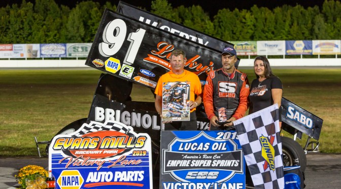 Scott Holcomb Takes ESS Victory at Evans Mills Speedway