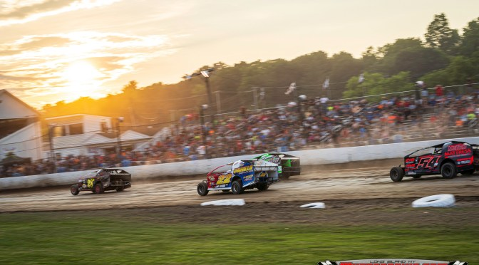 BREAK IS OVER, RACING RESUMES AT FONDA SPEEDWAY SEPTEMBER 14