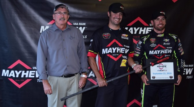 Doug Coby Takes the Pole for the Musket 250 Presented by Whelen