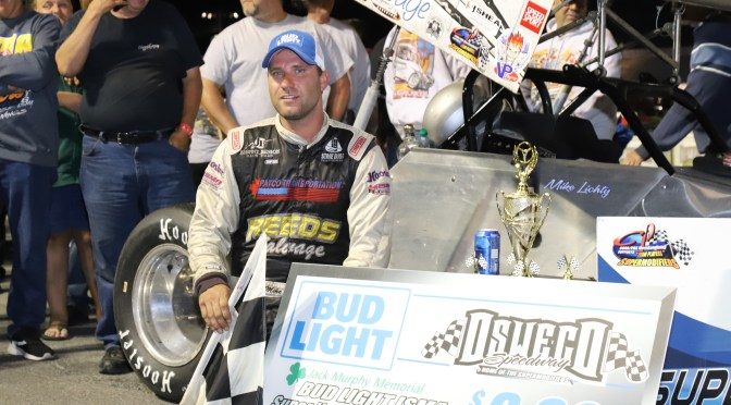 LICHTY PREVAILS IN BATTLE WITH JEDRZEJEK FOR OSWEGO ISMA SUPER NATIONALS 60 WIN