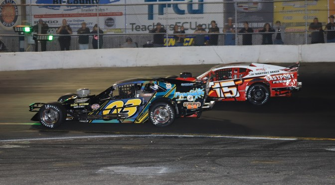 TOM ROGERS JR. SCORES ANOTHER DOUBLE DIP SATURDAY NIGHT AT RIVERHEAD RACEWAY WINNING 100-LAP NASCAR MODIFIED EVENT & FIGURE EIGHT FEATURE