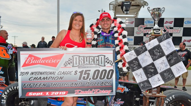 Tyler Thompson Dominates 63rd Budweiser International Classic 200; Becomes Youngest Winner in Event History