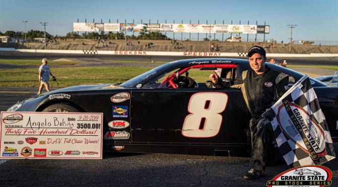 Belsito Dominant in D.A.V. at Seekonk Speedway