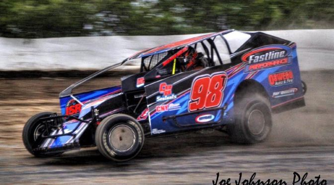 Tyler Thompson Returns to the Dirt for Outlaw 200 Weekend at Fulton Speedway