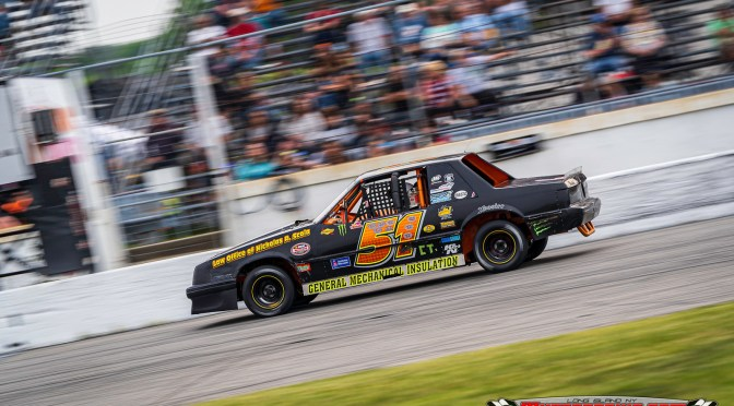 Three Drivers Separated By Three Points in Thompson Mini Stock Title Battle