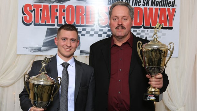 Ronnie Williams, Tom Fearn, Teddy Hodgdon, Jeremy Lavoie, & Zack Robinson Honored As 2019 Stafford Speedway Track Champions