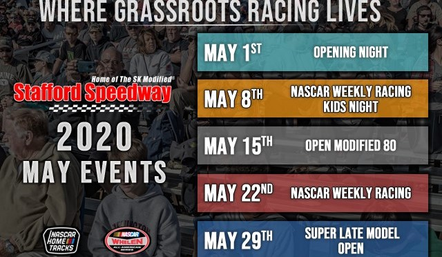 Stafford Speedway 2020 Schedule Sneak Preview