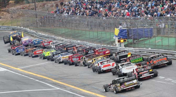 BIG MODIFIED STOCK CAR ENTRY LIST FOR WALL STADIUM TURKEY DERBY WEEKEND