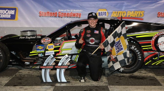 Andrew Molleur Wins NAPA Auto Parts SK Modified® Rookie of the Year Honors at Stafford Speedway