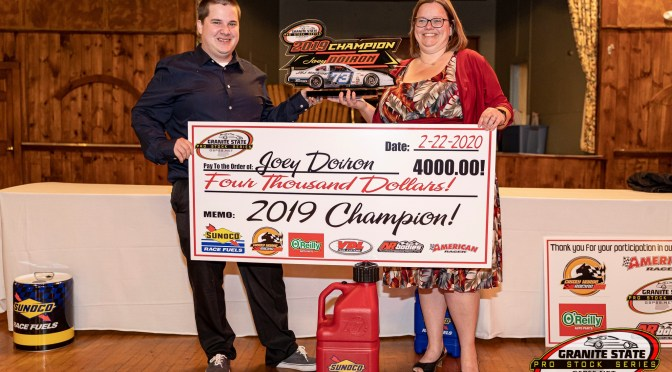 Joey Doiron crowned 2019 GSPSS Champion