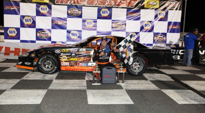 Michael Scorzelli Excited to Return to Stafford for Call Before You Dig Pro Late Model 81