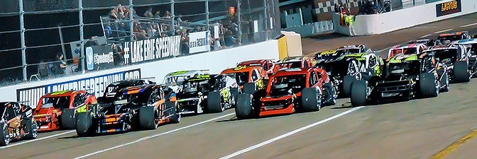 RACE OF CHAMPIONS READY FOR BIG NIGHT  AT LAKE ERIE SPEEDWAY ON SATURDAY, AUGUST 15