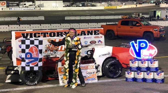 JANKOWIAK EARNS WIN IN FIFTH ANNUAL TRIBUTE TOJOE REILLY CROWN ROYAL CLASSIC 54