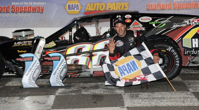 Rocco, Gray, Pearl, Durand, & Fuller Score Twisted Tea Open Mod 80 Feature Wins at Stafford Speedway