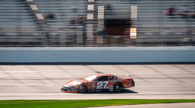 Helliwell Puts Orange Crush on ACT Field in Full Throttle 75
