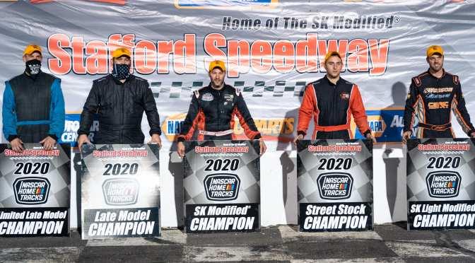 Rocco, Fearn, Puleo, Fearn & L'Etoile Score October 9 NAPA Auto Parts Championship Night Wins at Stafford; Gray, Sullivan, Durand, & Robinson Clinch Track Titles