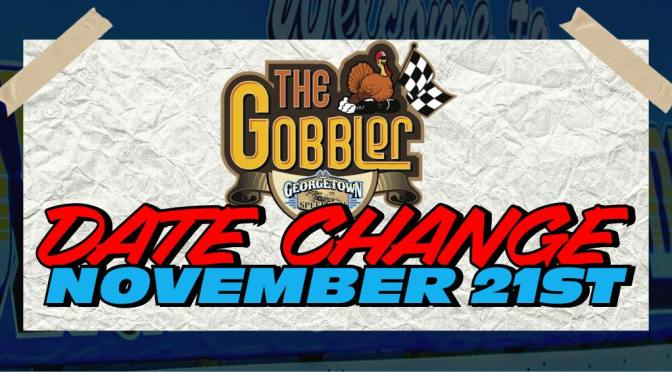 GEORGETOWN GOBBLER MOVED UP TO SATURDAY, NOVEMBER 21