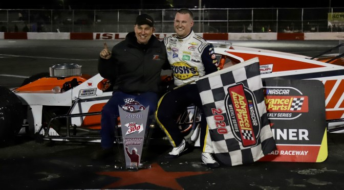 Man on a Mission: Preece Wins Islip 300 at Riverhead