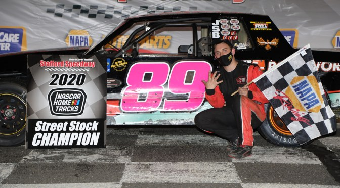 2-Time Street Stock Champion Zack Robinson Moving to Late Model Division in 2021 at Stafford Speedway