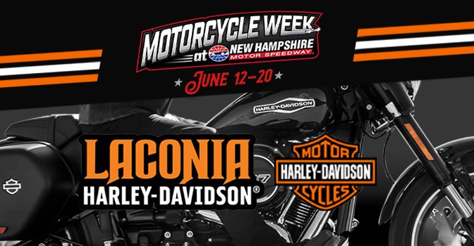 NHMS, Laconia Harley-Davidson Join Forces For 2021 Motorcycle Week
