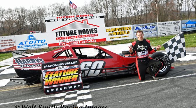 Matt Hirschman returns for a second week and repeats as Mahoning Valley Speedway winner