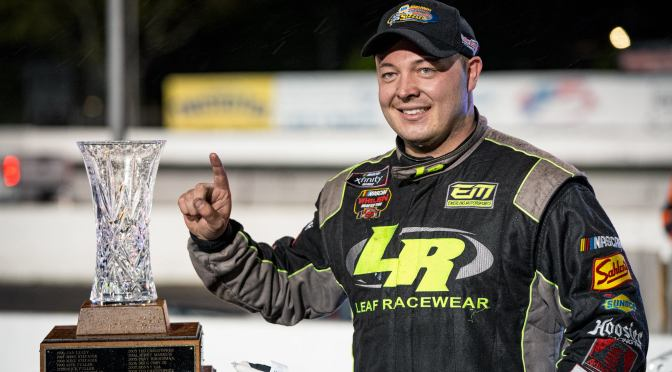 Patrick Emerling Wins NAPA Auto Parts Spring Sizzler at Stafford Speedway