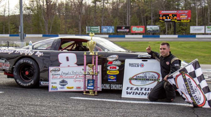 ANGELO BELSITO EARNS GRANITE STATE PRO STOCK SERIES WIN AT MONADNOCK