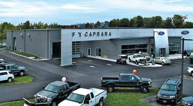 """FX CAPRARA TO PROVIDE OFFICIAL """"PACE TRUCK"""" FOR RACE OF CHAMPIONS FAMILY OF SERIES"""