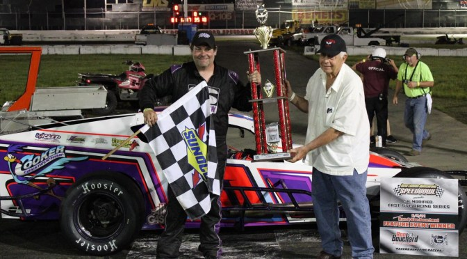 Todd Owen rallies to win Fast Five 50 at THe New LondonWaterford Speedbowl