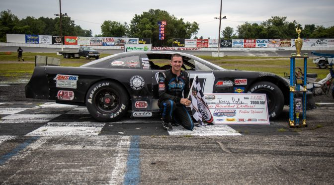 JOEY POLE DOMINATES TO WIN AT HUDSON SPEEDWAY