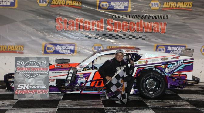 Arute, Gray, Barry, Lavoie & Hydar Score October 1 NAPA Auto Parts Championship Night Wins at Stafford; Bennett, Debbis, Fearn, & L'Etoile, Jr. Clinch Track Titles