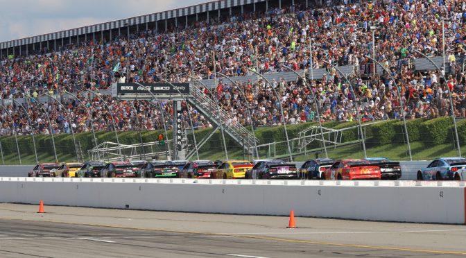 NASCAR RETURNS TO POCONO RACEWAY ON JULY 22-24, 2022.