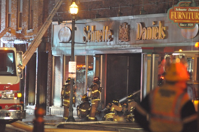 Schuette Daniels Furniture Store On Pine Street In Downtown Burlington Has  Been Closed Since A