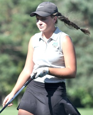 Taitum Beck of Waterford is the SLC golfer of the year. (Mike Ramczyk/SLN)
