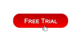 free-trial-web-interface-button-clicked-with-mouse-cursor-red-color-illustration-id948011232