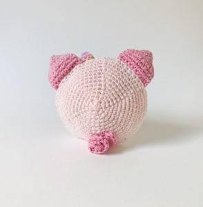 patron amigurumi marcelline cochon