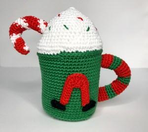 pattern christmas mugs