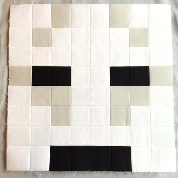 Minecraft Quilt Block Ghast